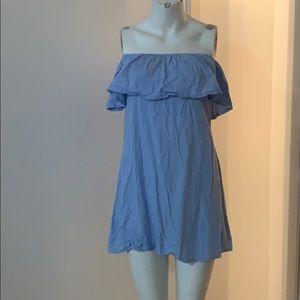 Yoins online inspiration off the shoulder dress